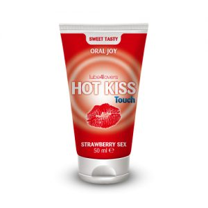 HOT KISS TOUCH STRAWBERRY GEL 50 M — MAASIKAMAITSELINE GEEL