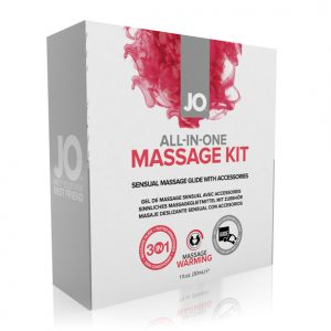 SYSTEM JO – ALL-IN-ONE MASSAGE GIFT SET – MASSAAŽI KINKEKOMPLEKT