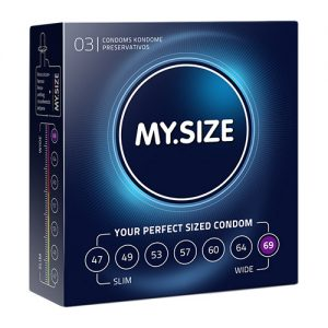 KONDOOMID 3TK MY SIZE CONDOMS 69MM