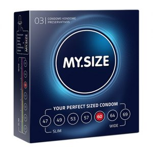 KONDOOMID 3TK MY SIZE CONDOMS 60MM