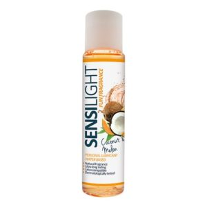 LUBRICANT SENSILIGHT FUN FRAGRANCE COCONUT AND MELON 60 ML